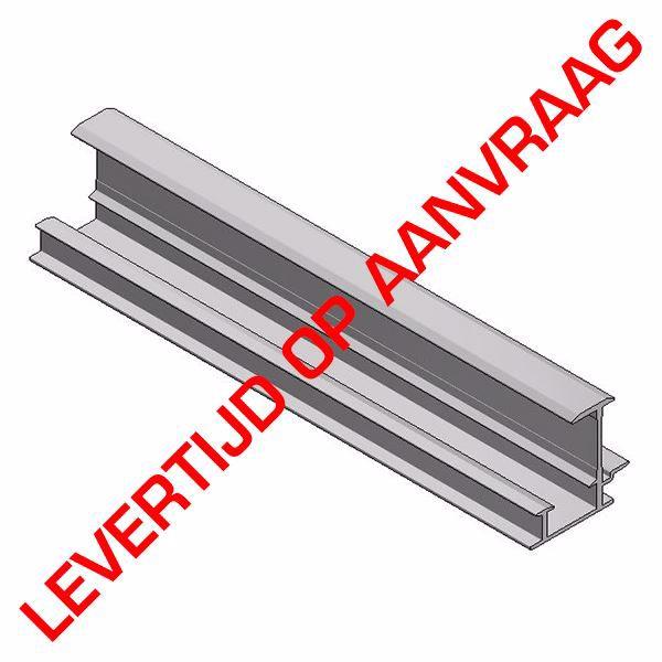 Afbeeldingen van Alu inleg profiel tussen H35mm L=6650mm