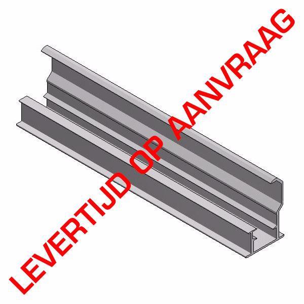 Afbeeldingen van Alu inleg profiel onder H40mm L=6650mm