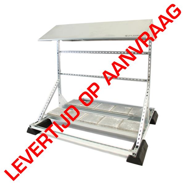 Afbeeldingen van PVshelter Floor B2B inverter frame