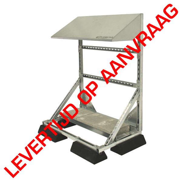 Afbeeldingen van PVshelter SingleShelter Wall/Floor inverter frame