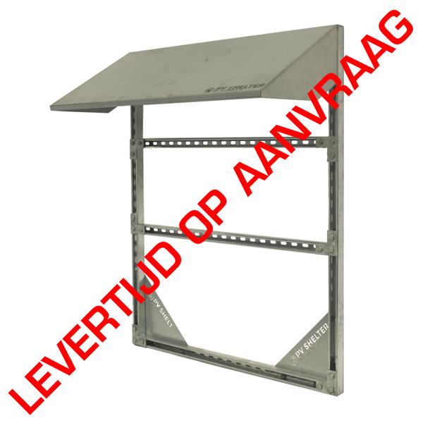 Afbeeldingen van PVshelter SingleShelter Wall inverter frame