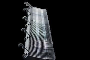 Afbeeldingen van Vogelwering 1m incl 5 klemmen 40mm - Solarguard Pro®