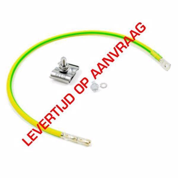 Afbeeldingen van Aardingskit 6mm kabel incl UNIclamp L=30cm